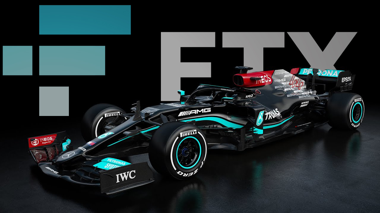 The Mercedes-AMG Petronas F1 Team Inks Long Term Deal With Crypto Exchange FTX